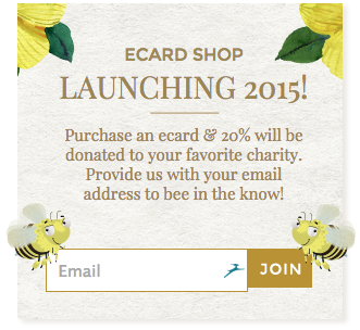 http://messagesofhope.com's ecard launch button