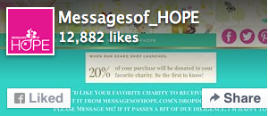 Messages of Hope's Facebook Page