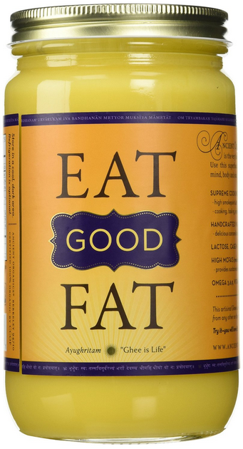 EAT GOOD FAT ghee || www.messagesofhope.com