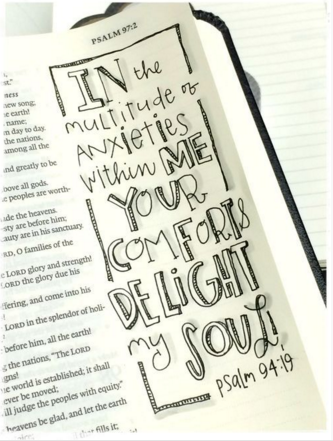 Bible Journaling || Image Credit: http://stephanieackermandesigns.com